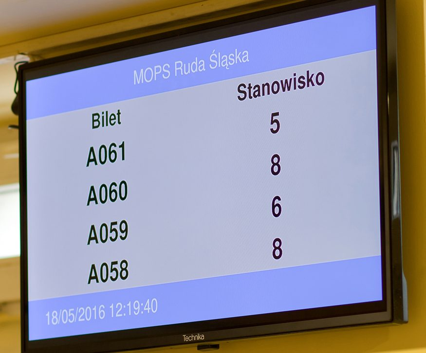 Ekran LCD systemu QS - Player