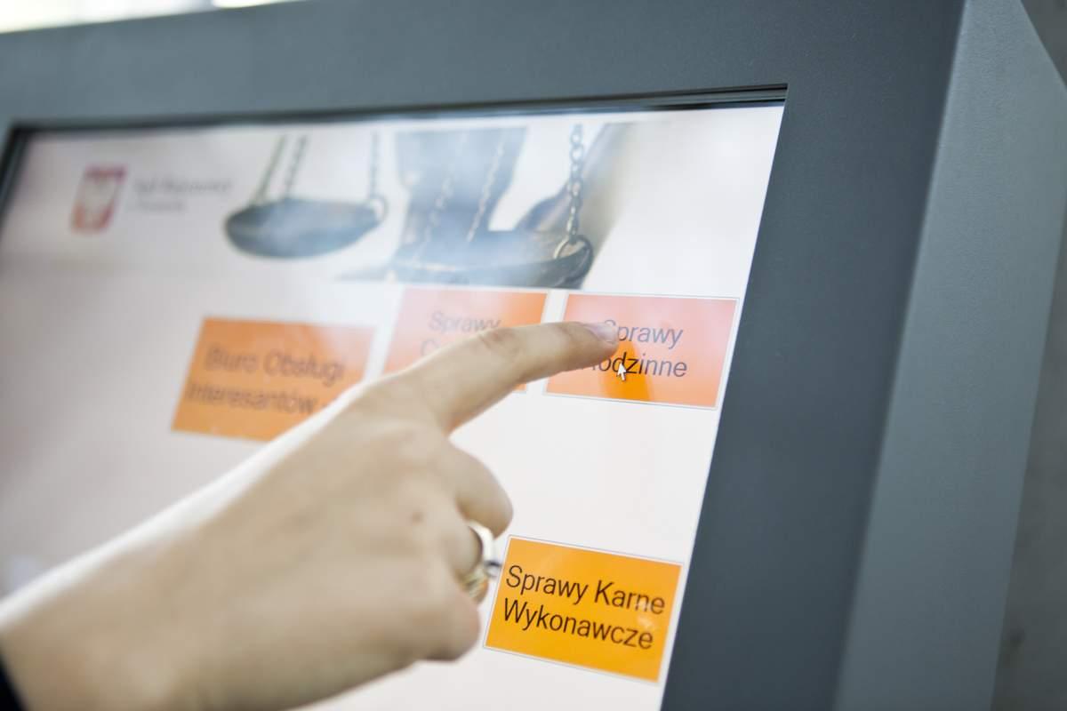 System QS - kiosk